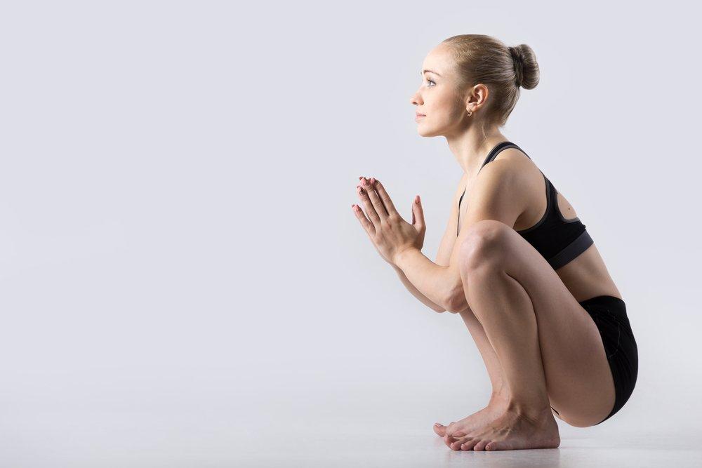Позы йоги для сохранения пространства