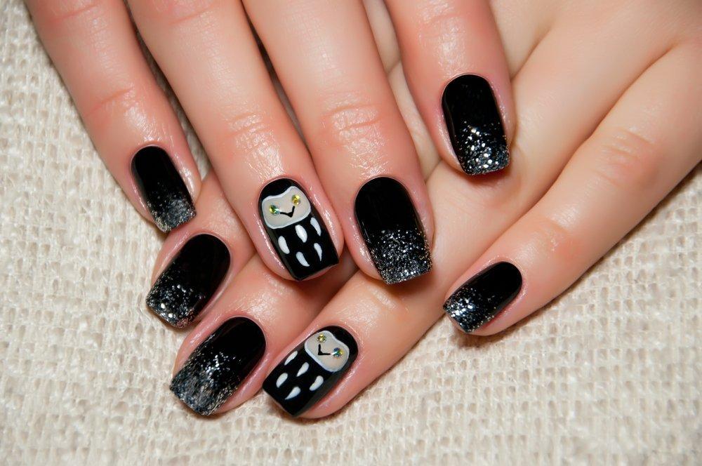 Шиммер на ногтях
