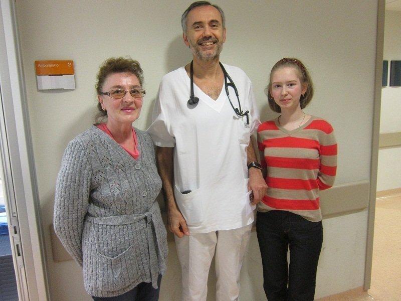 История болезни Лизы Бессоновой Источник: fond-vmeste.ru