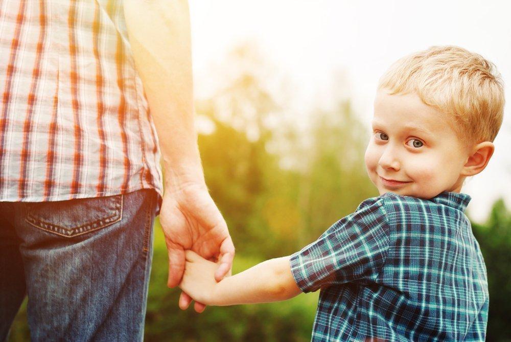 Организация отцом развивающих занятий для детей