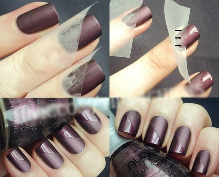 Как сделать лак на ногтях матовый
