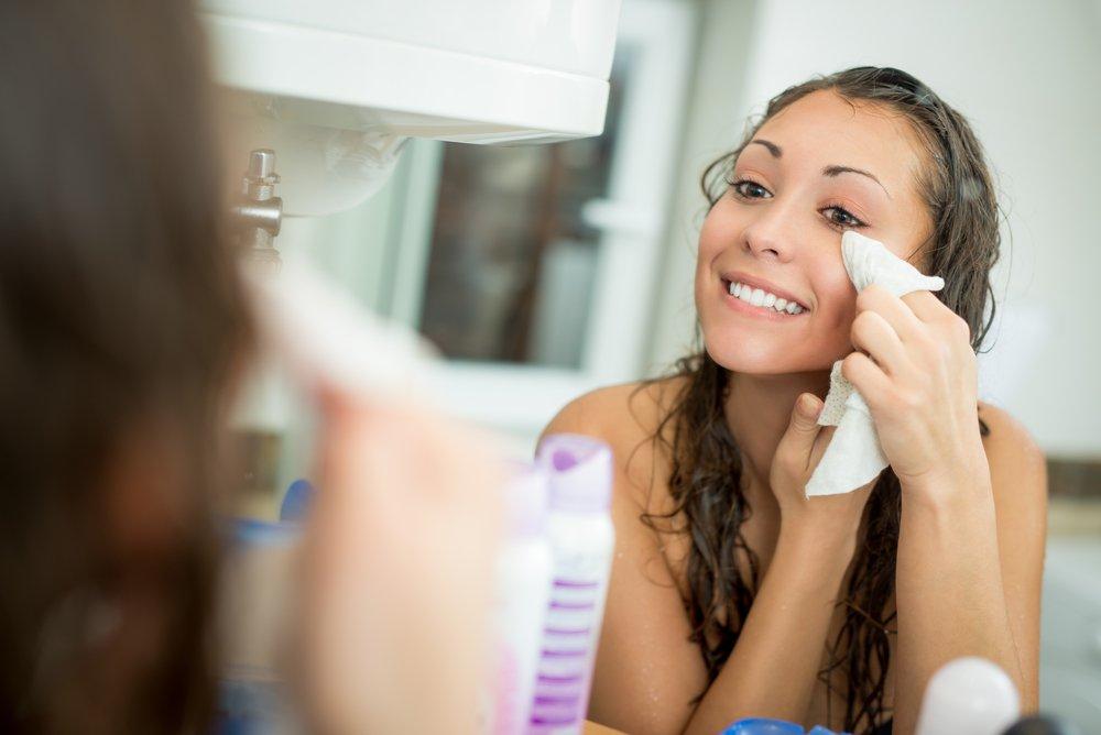 Очищающее масло для красоты лица