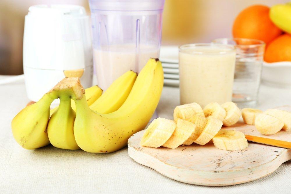 Молоко и банановая диета