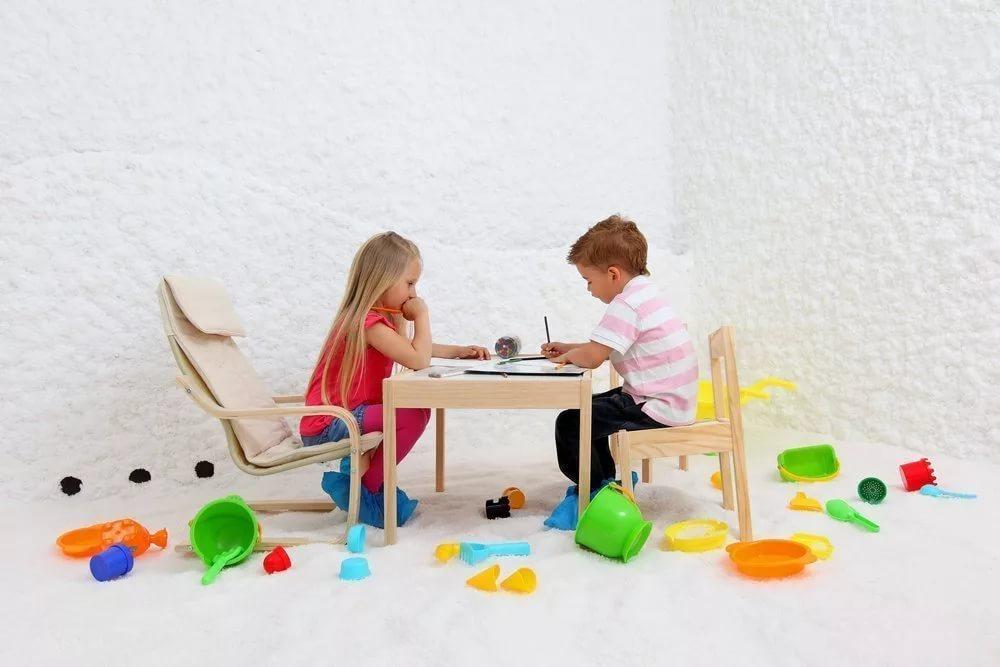 Искусственная пещера в лечении детей