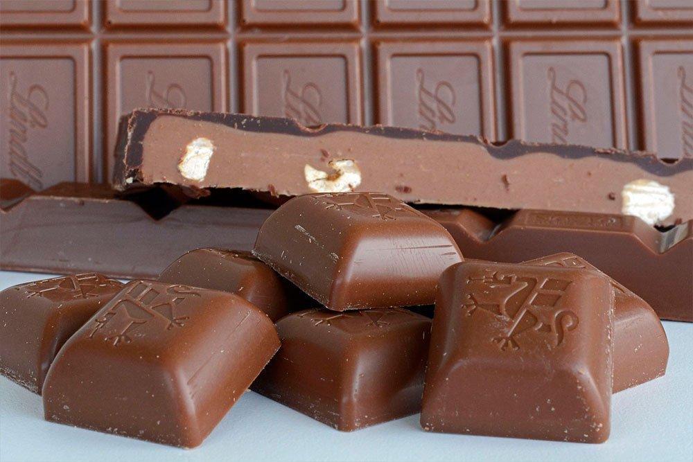 Шоколад и сливочные кондитерские изделия