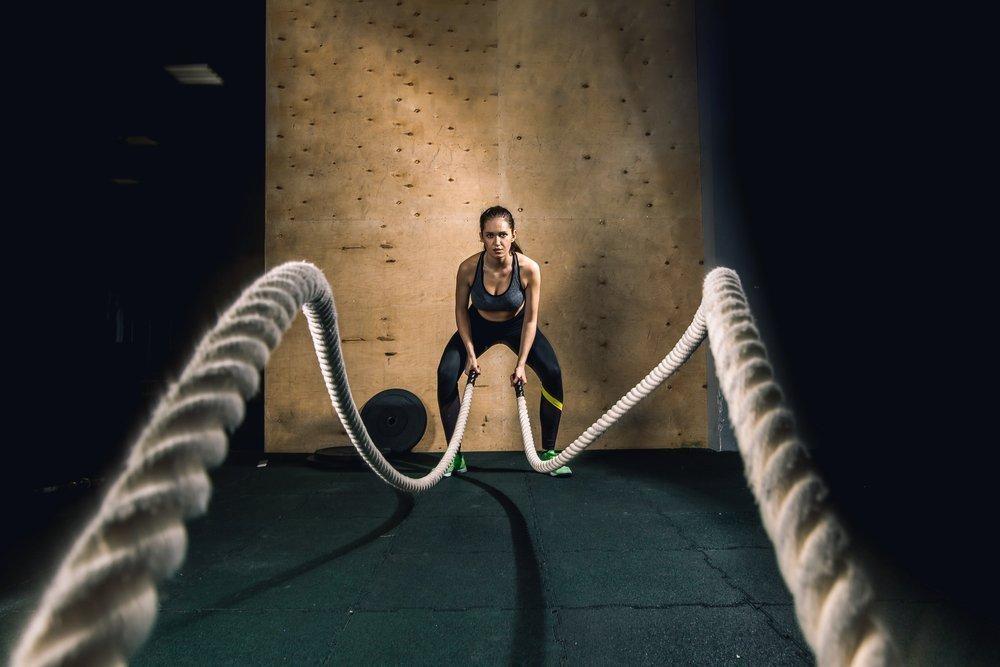 Программы физических нагрузок в стиле кроссфит