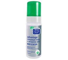 Очищающая пенка с экстрактом алоэ Clean & Clear Advantage Источник: letu.ru