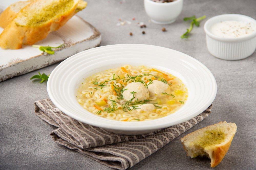 Классический рецепт первого блюда с фрикадельками