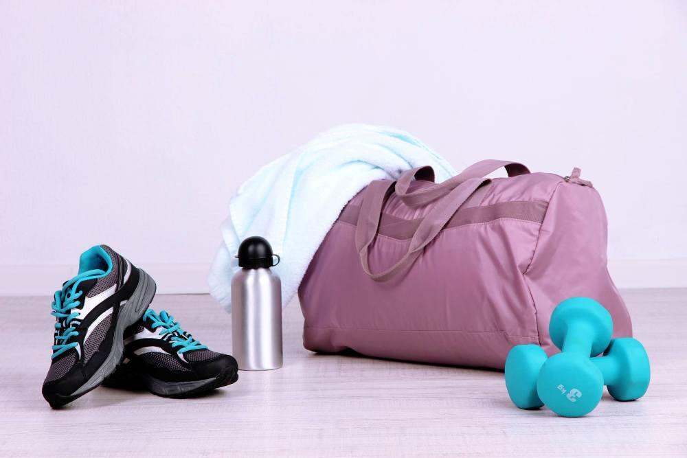 Гигиенические принадлежности для посещения фитнес-центра
