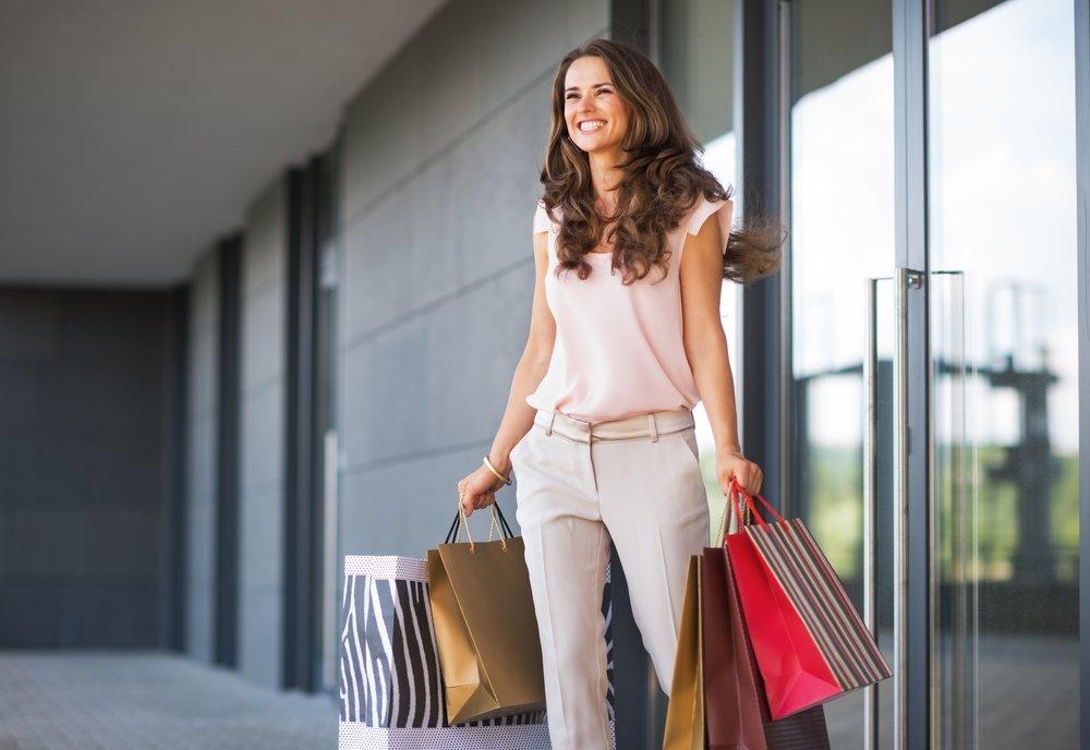 Польза шопинга для здоровья