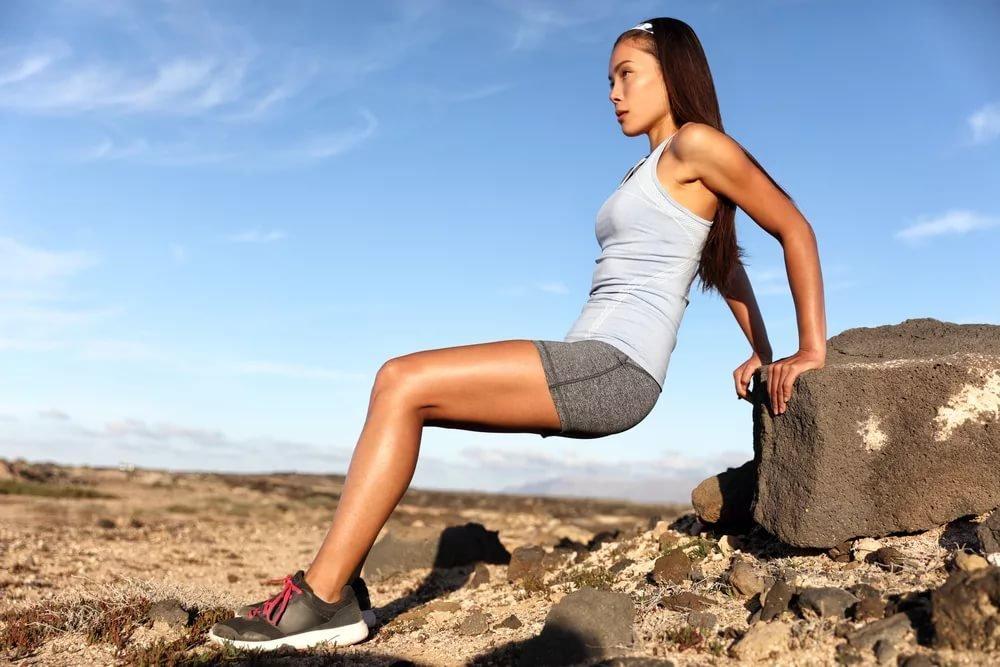 Упражнение 6. Обратные отжимания