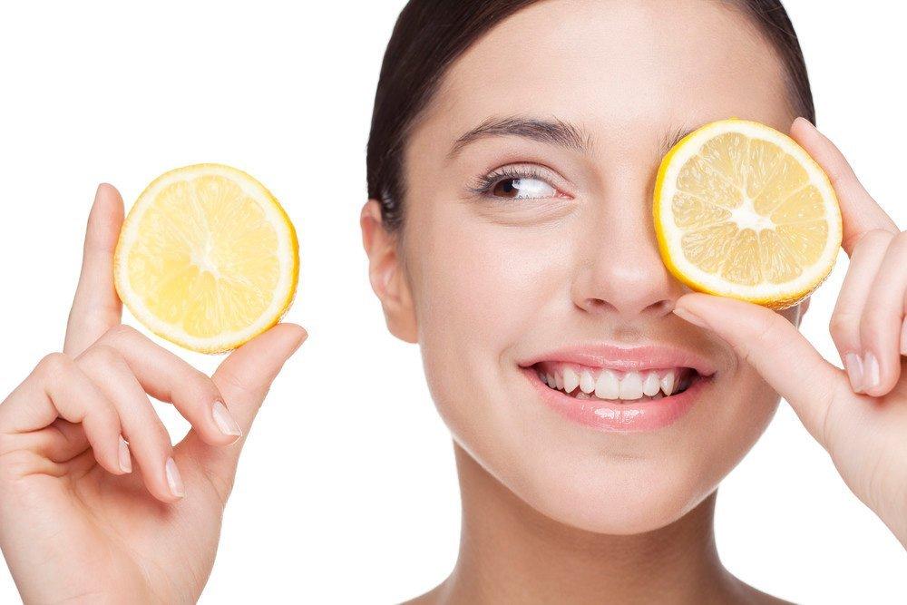 Лимон в уходе за кожей