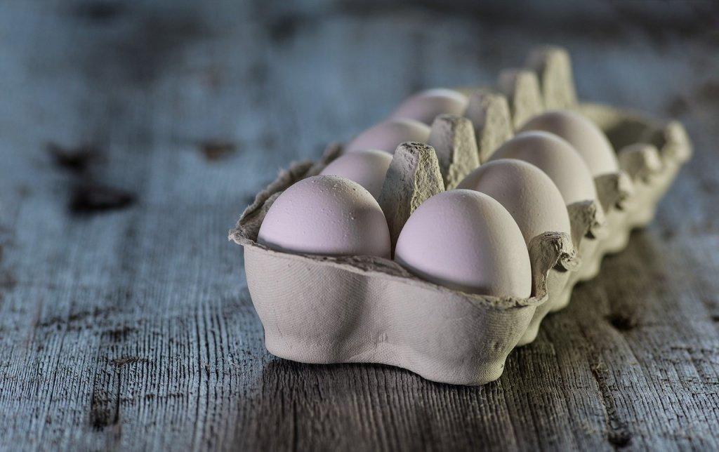 Только свежие яйца в рецепте
