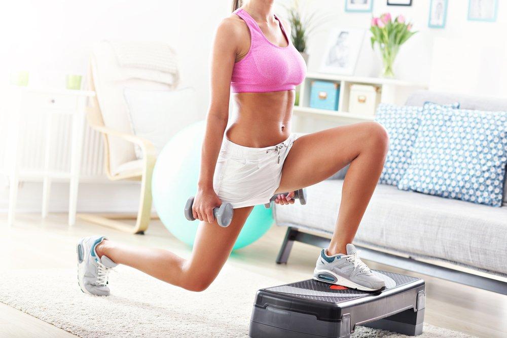 Видеоурок фитнеса для похудения