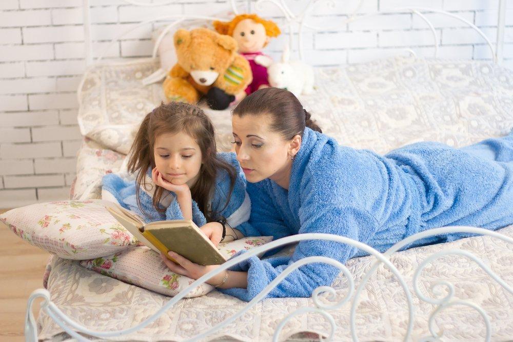Основные правила чтения взрослыми детям