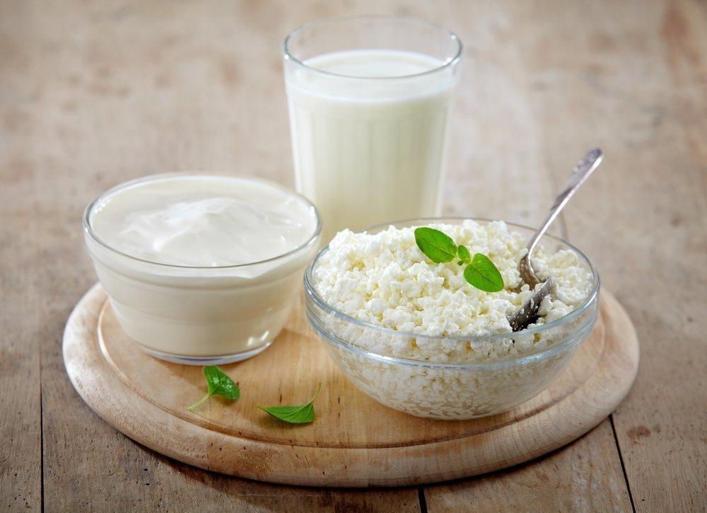 Заменяем молоко кисломолочными продуктами