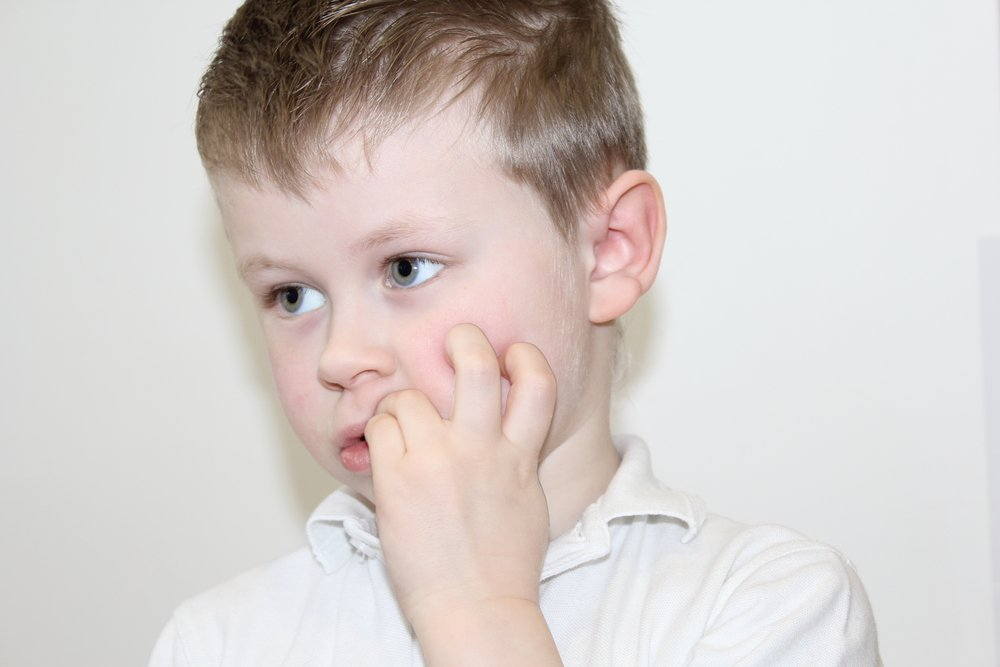 Привычка детей и страдание рук
