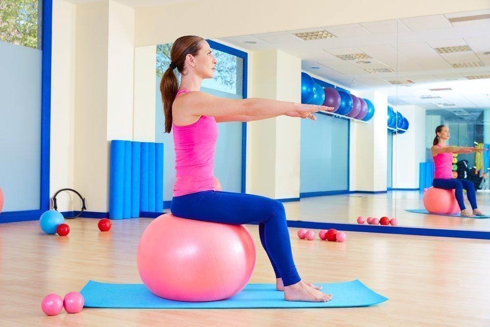 Правила выбора фитбола для похудения
