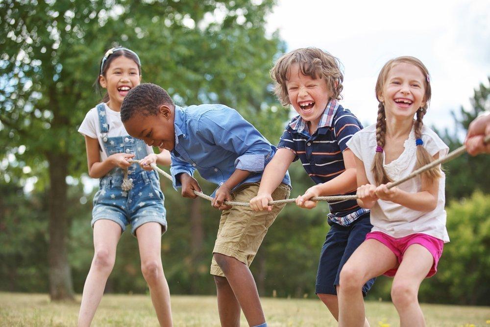 Дети друзья картинка