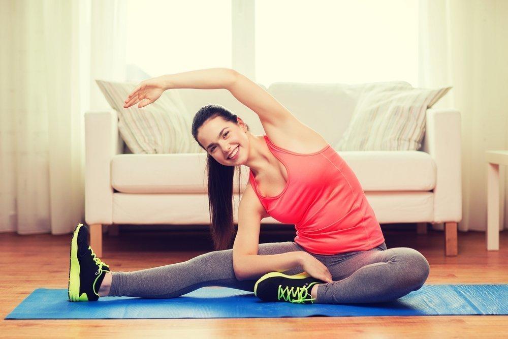 Комплекс упражнений для домашней растяжки