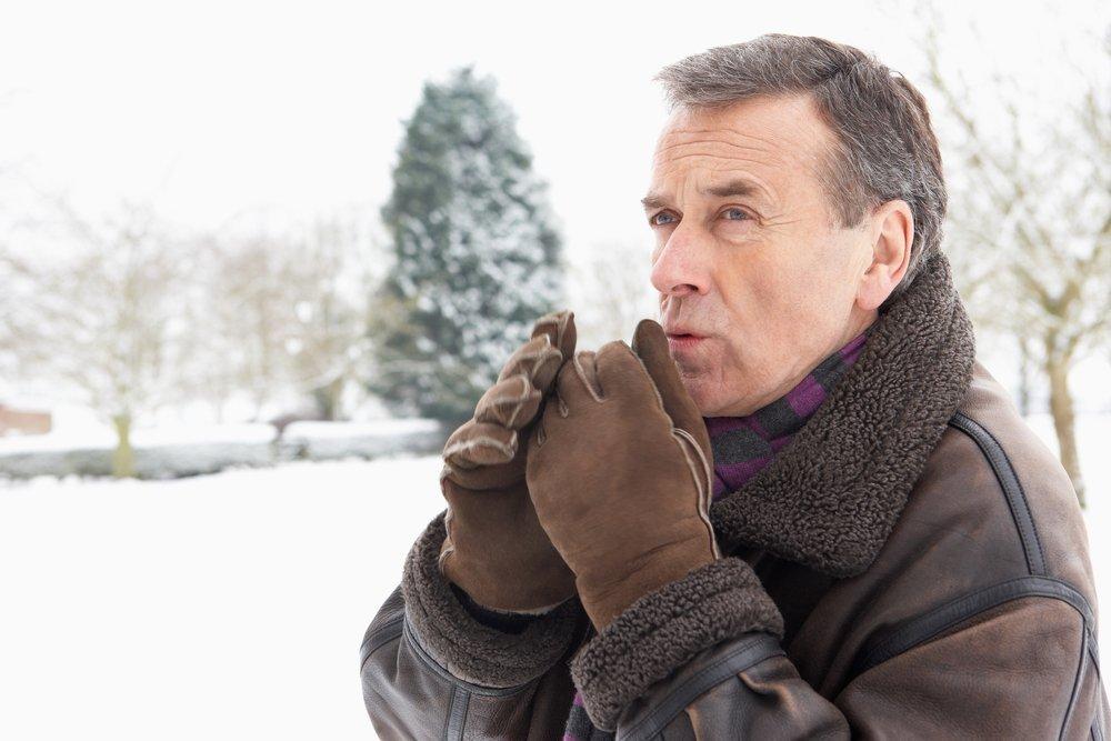 Холодная погода и сердце