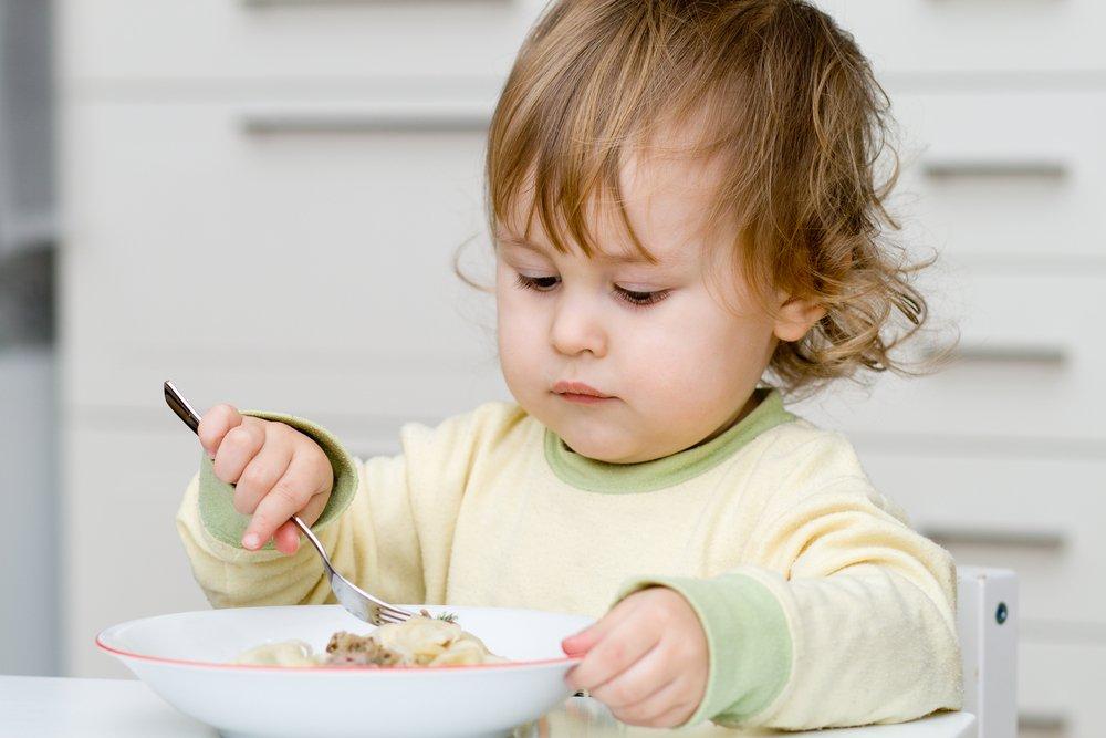 Детям нужен белок