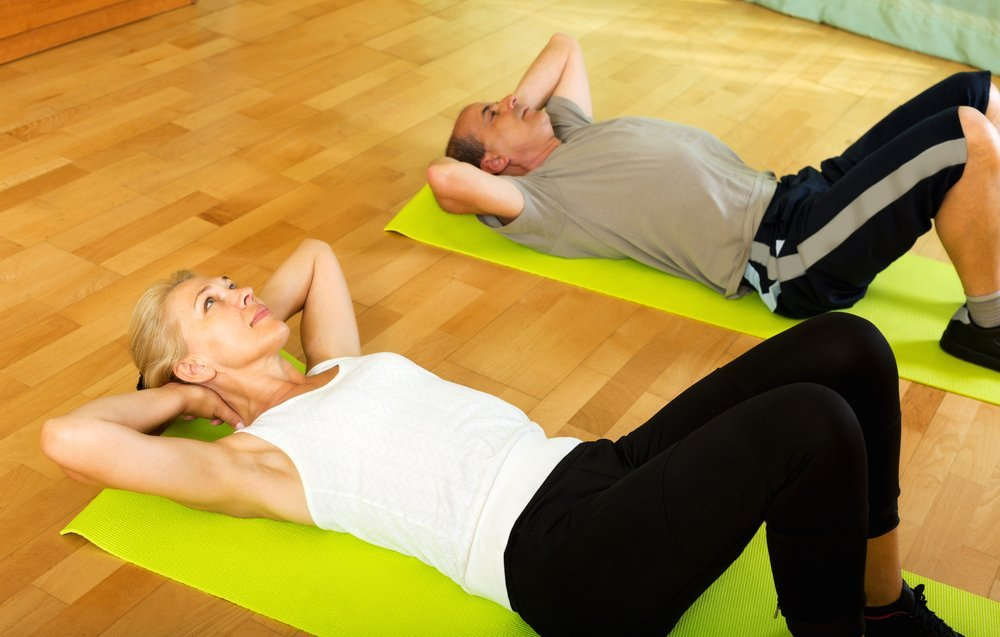 Комплекс упражнений при гонартрозе