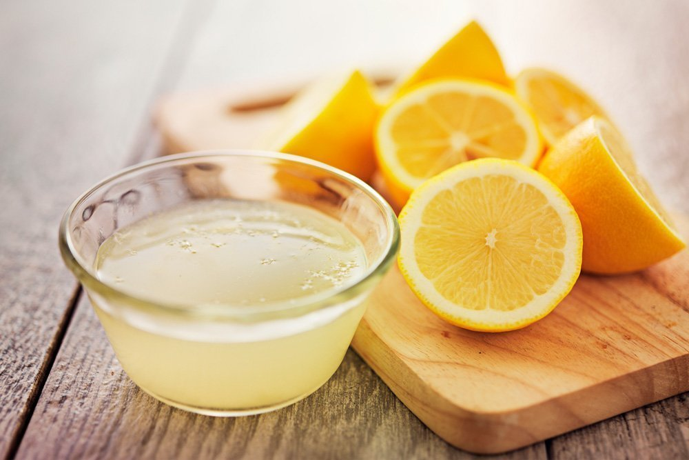 Маски на основе лимонного сока для ухода за кожей