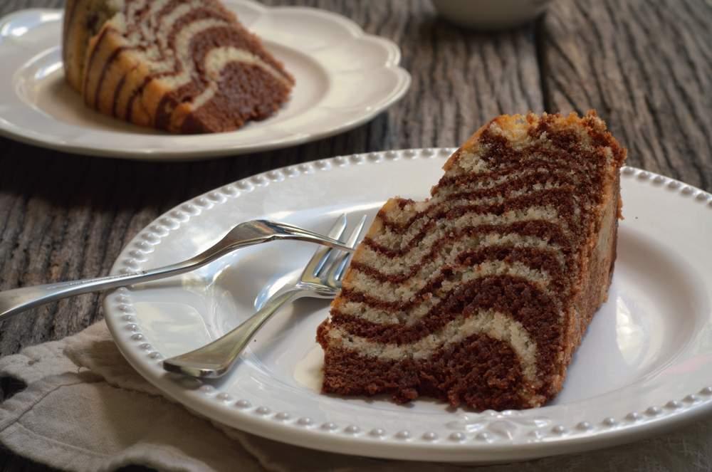 Торт «Зебра»: рецепт бисквита с кремом