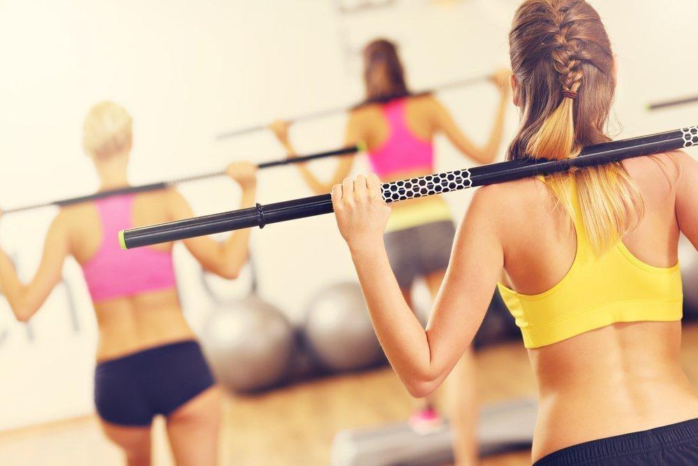 Фитнес-тренировки с элементами памп-аэробики
