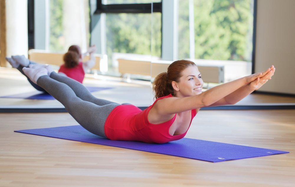 Сочетание «Лодочки» с другими фитнес-упражнениями