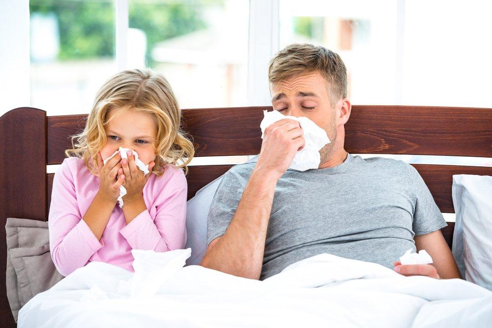 Насморк и заложенность носа