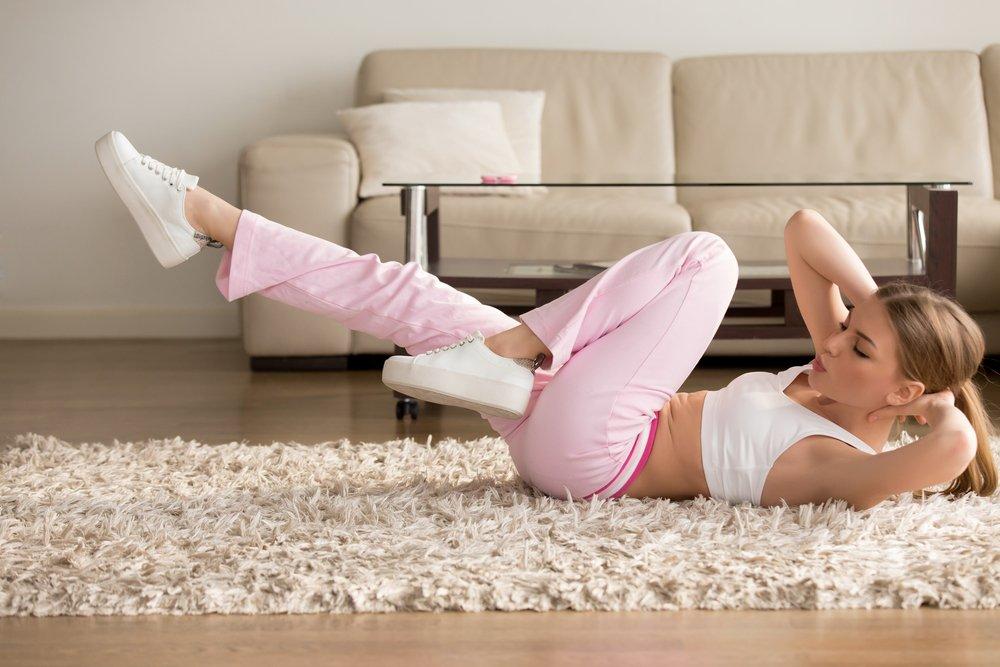 Крепкий пресс: эффективные упражнения
