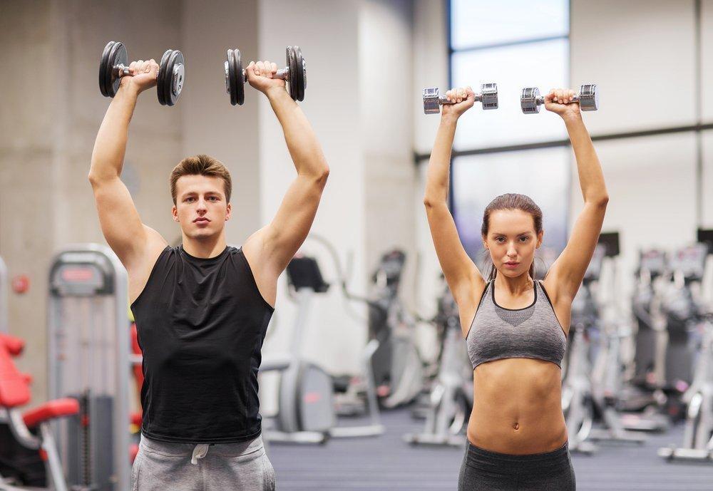 фитнес упражнения для похудения рук