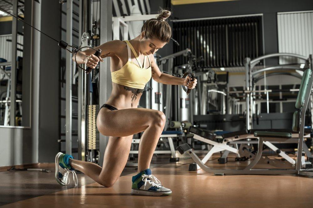 Тренировки для женщин с картинками