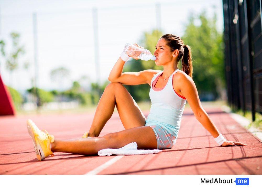 Вода и физические нагрузки