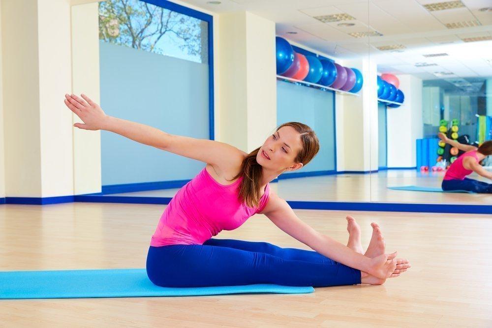 Упражнения пилатеса для живота