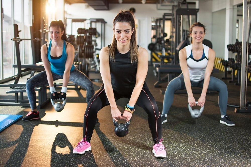 Разминочные упражнения для нижней части тела