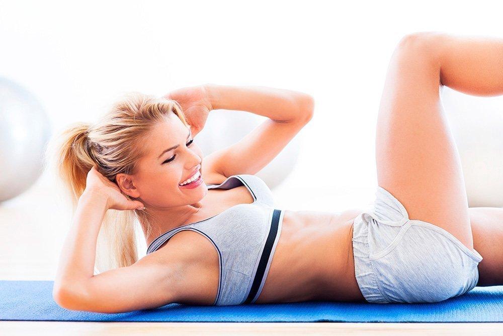 Фитнес-упражнения для глубокой проработки мышц пресса