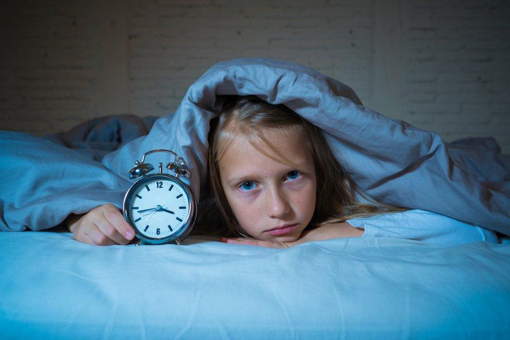 Причины детской бессонницы