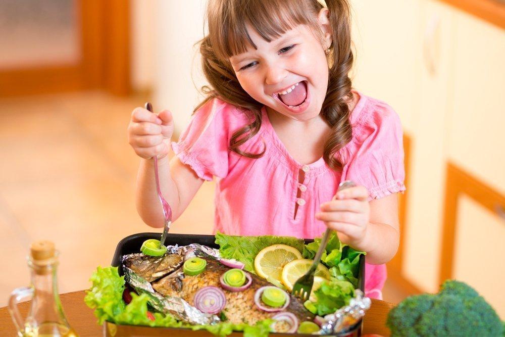 Вкусные блюда из рыбы для детей