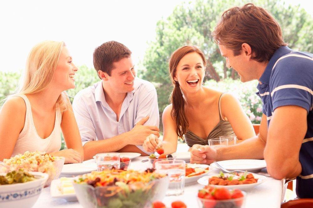 Встреча с друзьями картинки