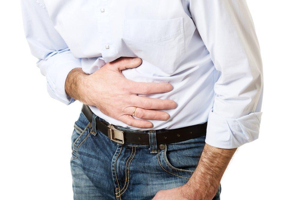 Проявление язвы желудка