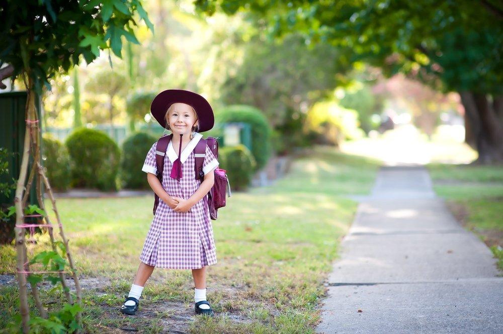 Начальная школа: форма для четырехлетки