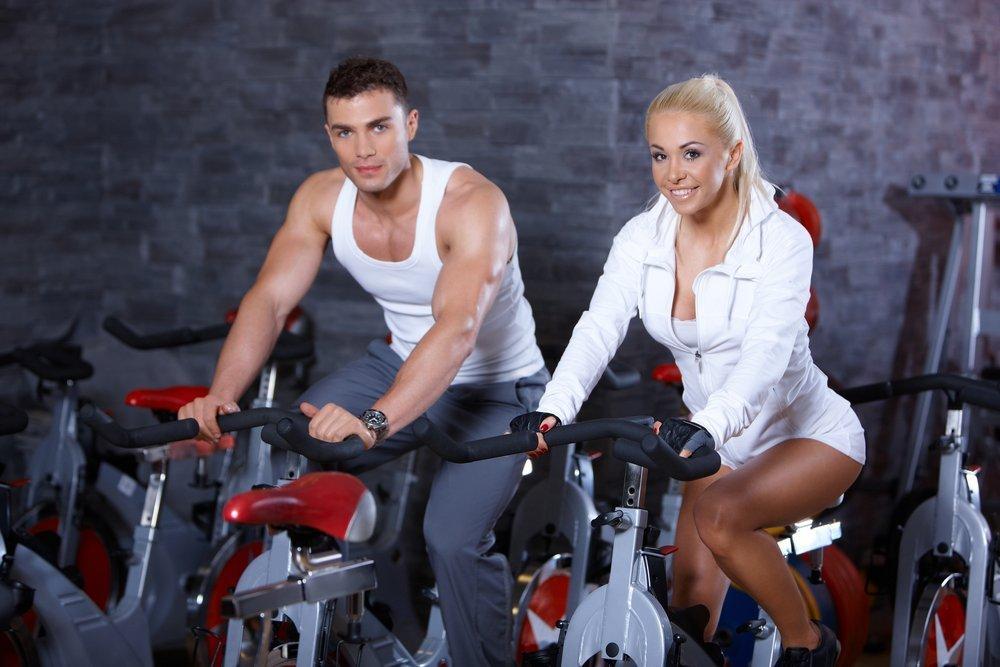 Фитнес-тренировки на велотренажерах