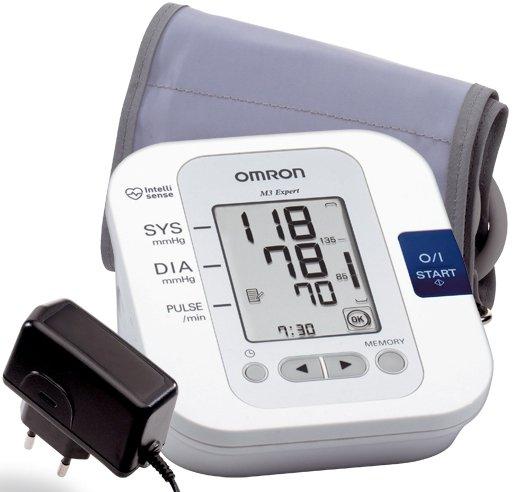 Omron m3 Expert (автоматический тонометр на плечо).