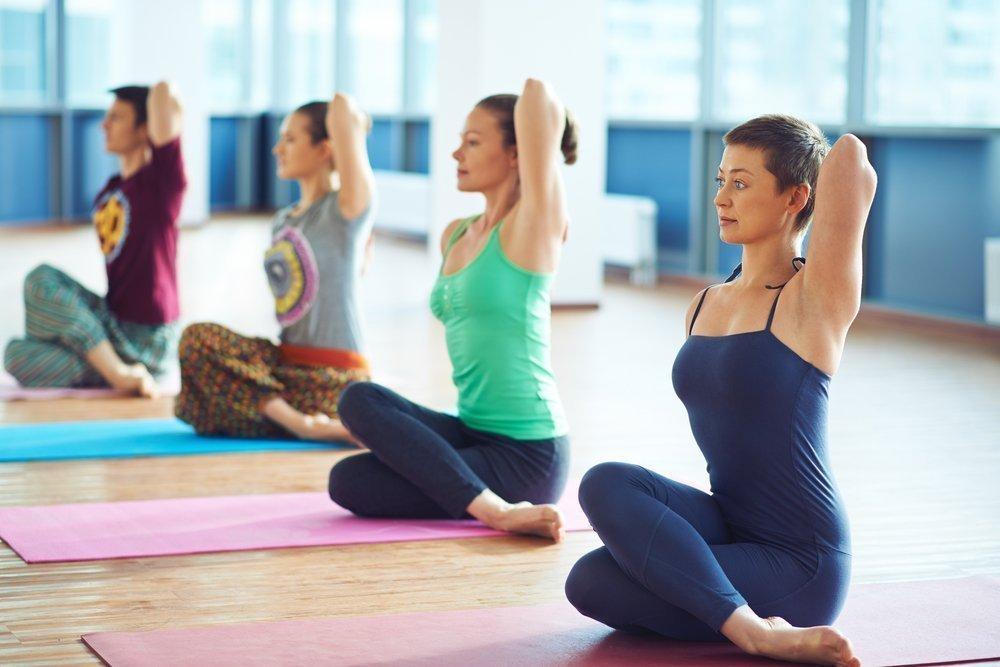 Йога как средство исправления осанки человека