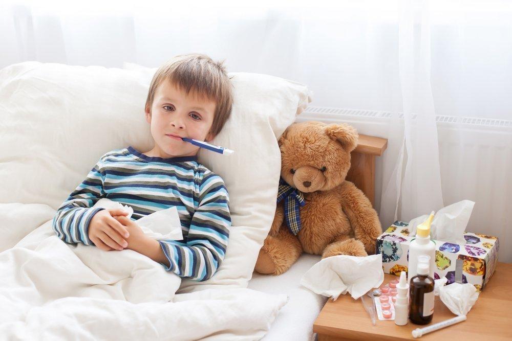 Осложнения заболевания у детей