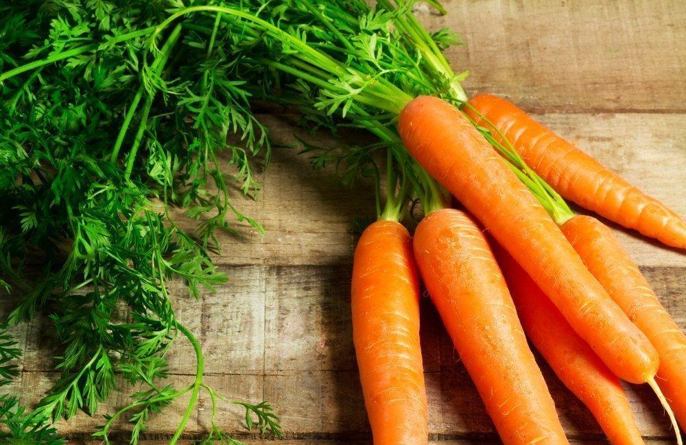 Морковь для красоты и питания кожи