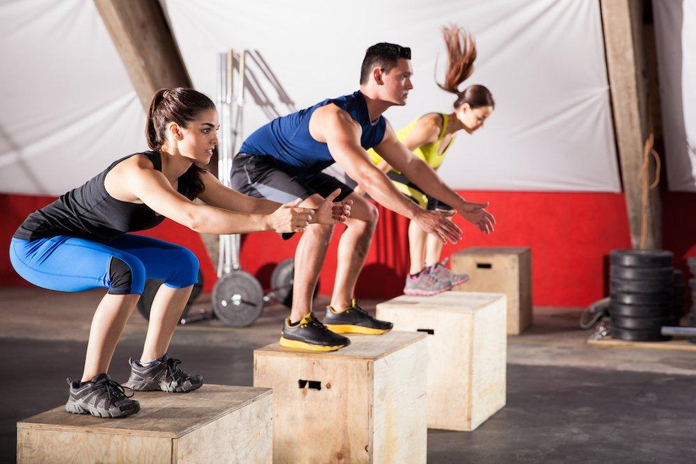 Тренировка в картинках кроссфит